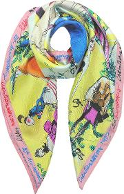 20 Ans Pure Silk Women's Square Scarf