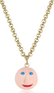 Christopher Kane Necklaces, Face Charm Necklace