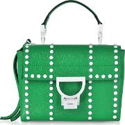 Arlettis Special Studs Leather Shoulder Bag