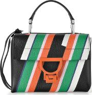 Arlettis Stripes Mini Bag Wshoulder Strap