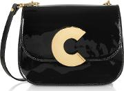 Craquante Rock Small Patent Leather Shoulder Bag