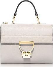 Seashell Pebbled Leather Arlettis Mini Bag Wshoulder Strap