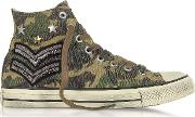 Chuck Taylor All Star High Military Patchwork Canvas Ltd Unisex Sneakers