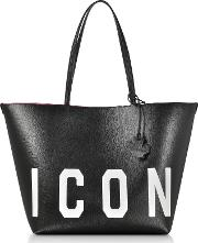 Saffiano Leather Icon Traveler Tote Bag