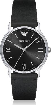 Kappa Stainless Steel Leather Men's Watch