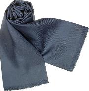 Forzieri Men's Scarves, Solid Silk Scarf