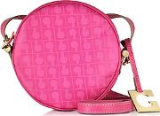 Lupita Small Round Crossbody Bag
