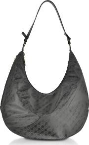 Signature Coated Canvas And Leather Softy Shoulder Bag