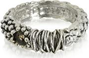 Sterling Silver Ring Wcrystal