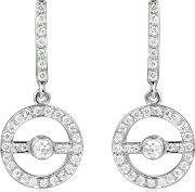 Incanto Royale Earrings, 0.55 Ctw Diamond 18k Gold Earrings