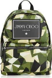 Camouflage Printed Nylon Wilmer Cin Backpack