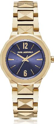 Karl Lagerfeld Women's Watches, Joleigh Gold Tone Stainless Steel Women's Watch