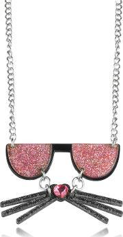 Kkocktail Necklace Wglitter Effect
