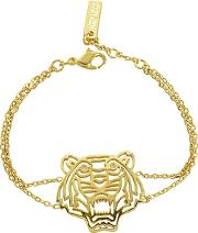 Gold Plated Tiger Bracelet