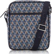 Ikon  Coated Canvas Men's Crossbody Bag