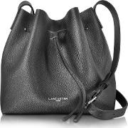 Pur & Element Saffiano Calf Leather Bucket Bag