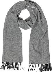 Two Tone Pure Cashmere Men's Scarf Wfringes