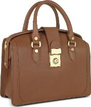 Brown Italian Leather Doctor Bag