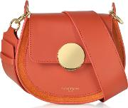 Yucca Suede And Leather Shoulder Bag