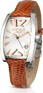 Panorama Mother Of Pearl Dial Dress Watch