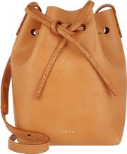 Mini Bucket Bag Cammellorosa