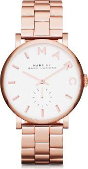 Marc By Marc Jacobs Women's Watches, Baker 33 Mm Stainless Steel Women's Watch