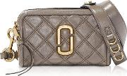 The Quilted Softshot 21 Lambskin Crossbody Bag
