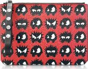 Classic Red Knit Monster Tablet Pouch