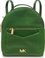 Jessa Small Pebbled Leather Convertible Backpack