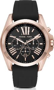 Michael Kors Men's Watches, Bradshaw Rose Goldtone Stainless Steel Men's Chronograph Watch