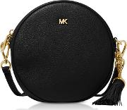 Pebbled Leather Canteen Crossbody