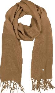 Camel Wool And Cashmere Stole