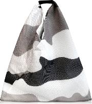 Camouflage Printed Mesh Japanese Tote Bag
