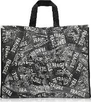 Fragile Printed Tote Bag
