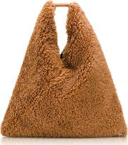 Japanese Faux Fur Tote Bag