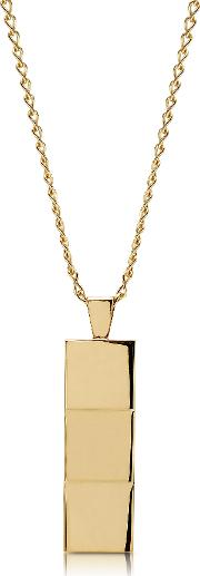 Layers Gold Tone Necklace