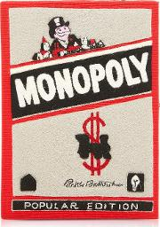 Cotton And Wool Monopoly Popular Edition Book Clutch
