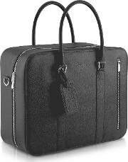 City Chic Double Handle Calfskin Briefcase