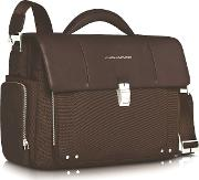 Link Front Pocket Double Gusset 15 Laptop Briefcase