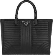 Diagramme Tote Quilted Leather Nero 2