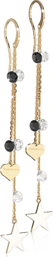 Lucciole Gold Plated Sterling Silver Earrings Wcrystals
