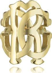 Roberto Cavalli Rings, Rc Lux Gold Tone Ring