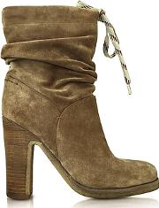 Sand Suede Boot