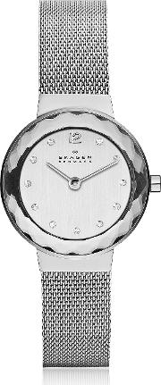 Leonora Steel Mesh Women's Watch