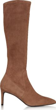 Cappuccino Suede Wanessa 75 Boots