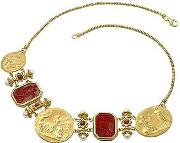 Tagliamonte Necklaces, Classics Collection 18k Gold And Ruby Necklace