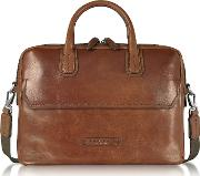 Dark  Double Handle Briefcase