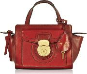 Rufina Small Leather Satchel Bag
