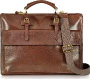 Story Uomo  Leather Briefcase