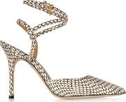 King Cobra Penelope 100mm Ankle Strap Pump